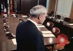 Image of James R Schlesinger Washington DC USA, 1974, second 6 stock footage video 65675042307