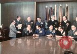 Image of Joint Chiefs of Staff and photographers Washington DC USA, 1974, second 1 stock footage video 65675042310