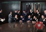Image of Joint Chiefs of Staff and photographers Washington DC USA, 1974, second 3 stock footage video 65675042310