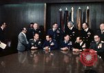 Image of Joint Chiefs of Staff and photographers Washington DC USA, 1974, second 4 stock footage video 65675042310