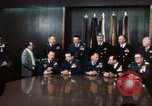 Image of Joint Chiefs of Staff and photographers Washington DC USA, 1974, second 7 stock footage video 65675042310