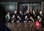 Image of Joint Chiefs of Staff and photographers Washington DC USA, 1974, second 8 stock footage video 65675042310