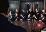 Image of Joint Chiefs of Staff and photographers Washington DC USA, 1974, second 9 stock footage video 65675042310