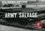 Image of scrap Maryland United States USA, 1943, second 1 stock footage video 65675042333