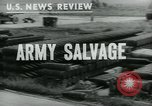 Image of scrap Maryland United States USA, 1943, second 2 stock footage video 65675042333