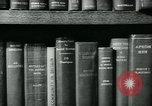 Image of Preserving British books during World War 2 Washington DC USA, 1943, second 8 stock footage video 65675042334