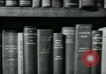 Image of Preserving British books during World War 2 Washington DC USA, 1943, second 9 stock footage video 65675042334
