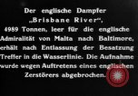 Image of British Steamer Brisbane River  Atlantic Ocean, 1917, second 9 stock footage video 65675042364