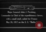 Image of Major General John Pershing France, 1918, second 1 stock footage video 65675042370