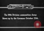Image of ammunition dump France, 1921, second 7 stock footage video 65675042394