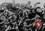 Image of German submarine surrenders to British Q-ship Mediterranean Sea, 1917, second 5 stock footage video 65675042412