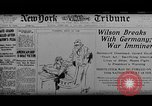 Image of Woodrow Wilson Europe, 1917, second 2 stock footage video 65675042413