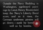 Image of Lieutenant Henry Reuterdahl Washington DC USA, 1918, second 1 stock footage video 65675042415