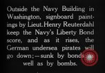 Image of Lieutenant Henry Reuterdahl Washington DC USA, 1918, second 2 stock footage video 65675042415