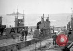 Image of captured U boat Atlantic Ocean, 1918, second 3 stock footage video 65675042419