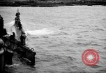 Image of captured U boat Atlantic Ocean, 1918, second 9 stock footage video 65675042419