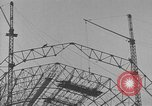 Image of steel frame structure Germany, 1924, second 10 stock footage video 65675042447