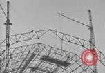 Image of steel frame structure Germany, 1924, second 11 stock footage video 65675042447