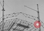 Image of steel frame structure Germany, 1924, second 12 stock footage video 65675042447