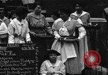 Image of British women run a food kitchen in World War I United States USA, 1918, second 1 stock footage video 65675042450