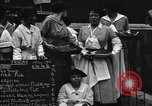 Image of British women run a food kitchen in World War I United States USA, 1918, second 2 stock footage video 65675042450