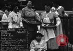 Image of British women run a food kitchen in World War I United States USA, 1918, second 3 stock footage video 65675042450