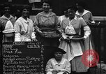 Image of British women run a food kitchen in World War I United States USA, 1918, second 4 stock footage video 65675042450