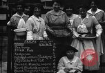 Image of British women run a food kitchen in World War I United States USA, 1918, second 7 stock footage video 65675042450