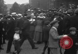 Image of Pacifists in London during World War I London England United Kingdom, 1918, second 11 stock footage video 65675042451