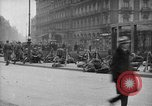 Image of German troops on city sidewalks European Theater, 1918, second 11 stock footage video 65675042458