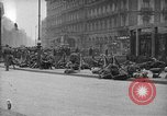 Image of German troops on city sidewalks European Theater, 1918, second 12 stock footage video 65675042458