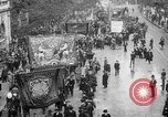 Image of Trade unionists protest high food prices during World War I London England United Kingdom, 1916, second 1 stock footage video 65675042461