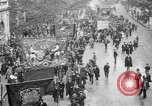 Image of Trade unionists protest high food prices during World War I London England United Kingdom, 1916, second 4 stock footage video 65675042461