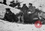 Image of British soldiers sharing Christmas pudding in trenches France, 1916, second 12 stock footage video 65675042463