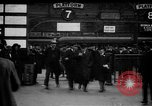 Image of British Prime Minister, Herbert Henry Asquith at train station London England United Kingdom, 1916, second 1 stock footage video 65675042468