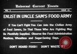 Image of save food campaign United States USA, 1918, second 6 stock footage video 65675042474