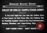Image of save food campaign United States USA, 1918, second 9 stock footage video 65675042474