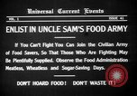 Image of save food campaign United States USA, 1918, second 10 stock footage video 65675042474