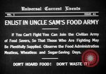 Image of save food campaign United States USA, 1918, second 11 stock footage video 65675042474