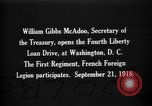 Image of William Gibbs McAdoo Washington DC USA, 1918, second 1 stock footage video 65675042478