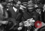 Image of Chaplin, Pickford, and Fairbanks at the Third Liberty Loan drive Washington DC USA, 1918, second 12 stock footage video 65675042480