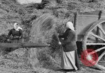 Image of French women tend farms in World War I France, 1917, second 4 stock footage video 65675042483