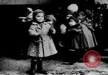 Image of French children in World War I France, 1918, second 2 stock footage video 65675042486