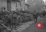 Image of French refugees with American soldiers in World War I France, 1918, second 3 stock footage video 65675042495