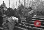 Image of French refugees with American soldiers in World War I France, 1918, second 4 stock footage video 65675042495
