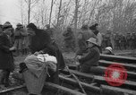 Image of French refugees with American soldiers in World War I France, 1918, second 9 stock footage video 65675042495