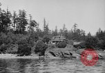 Image of Puget Sound coastline in early 1900s Tacoma Washington USA, 1917, second 6 stock footage video 65675042499