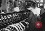 Image of lace making textile factory looms at work United States USA, 1917, second 9 stock footage video 65675042502