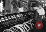 Image of lace making textile factory looms at work United States USA, 1917, second 10 stock footage video 65675042502