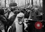 Image of distributing food Ruhr Germany, 1923, second 5 stock footage video 65675042504
